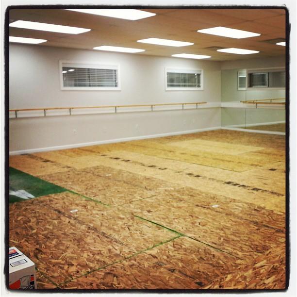 Floor Installation!!
