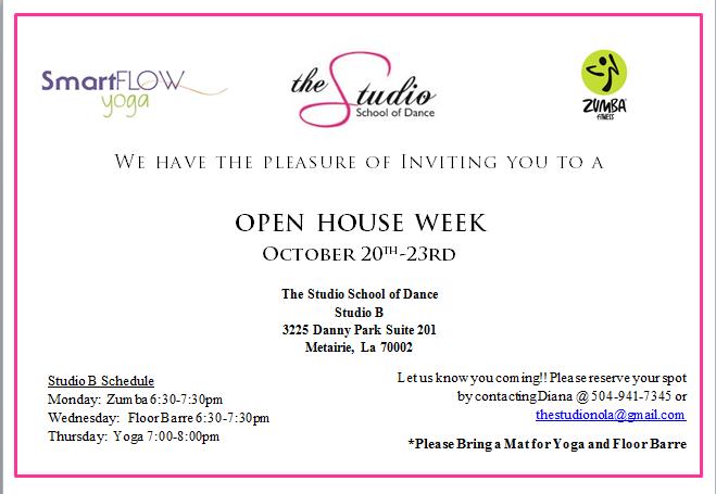 Open House Week