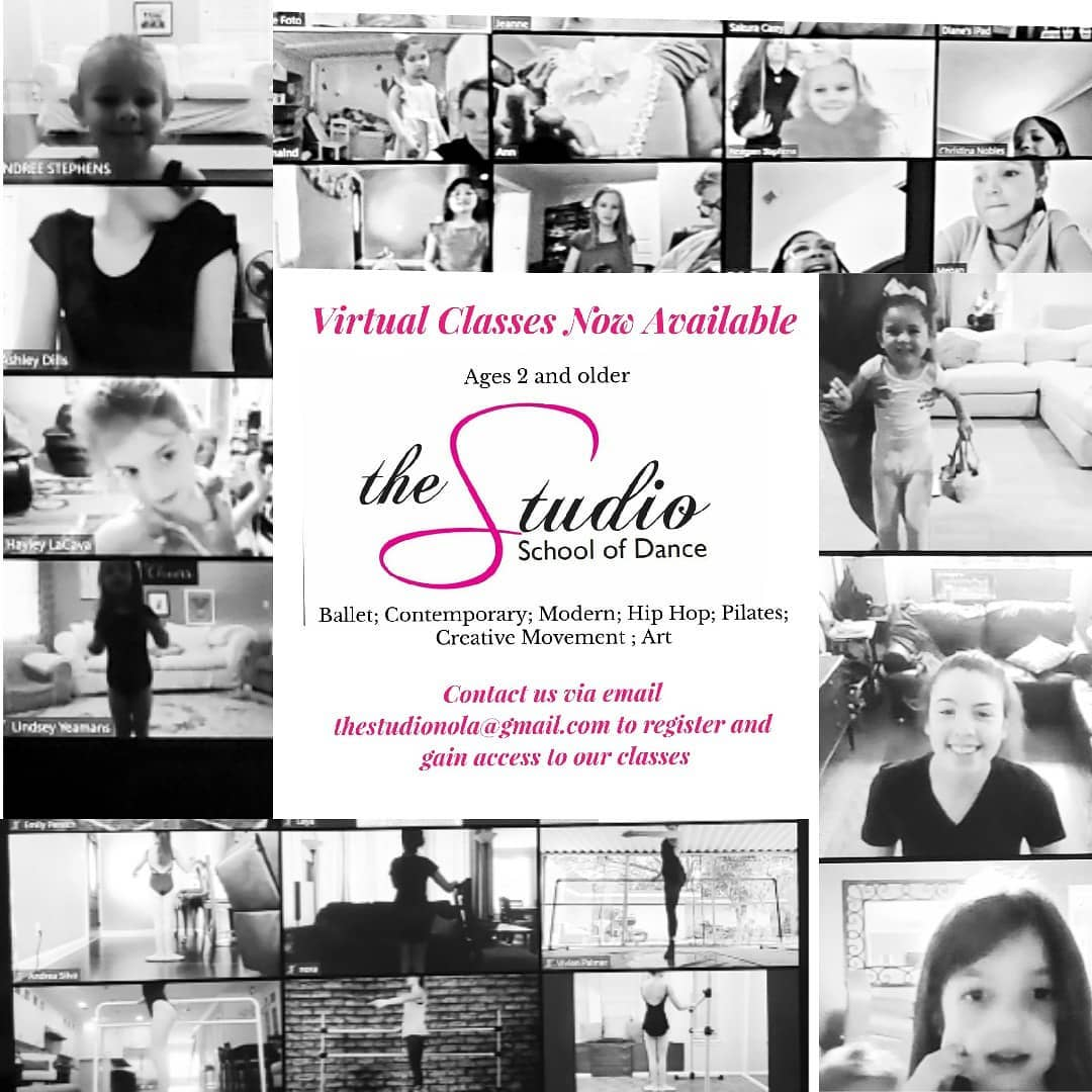 Virtual Classes at The Studio School of Dance